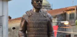 Прабългарите и Апенините, откриване на статуя на Хан Алцек в Италия