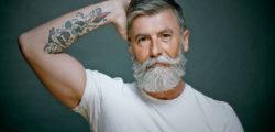 60 годишен мъж се превърна във фотомодел, след като си пусна брада