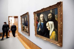 The-museum-shows-paintings-by-Dutch-Han-van-Meegeren