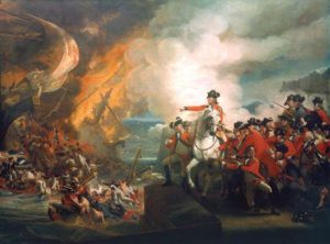 Copley, John Singleton; Defeat of the Floating Batteries at Gibraltar, September 1782 (The Siege of Gibraltar); City of London Corporation; http://www.artuk.org/artworks/defeat-of-the-floating-batteries-at-gibraltar-september-1782-the-siege-of-gibraltar-50903