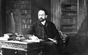 DH79HB Emile Zola - French Writer - Photographic portrait by Felix Nadar