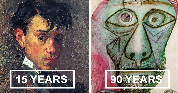 painting-self-portrait-style-evolution-pablo-picasso