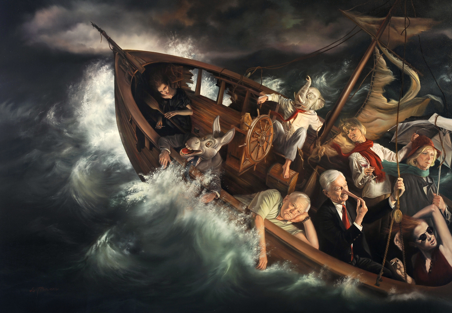 ship-of-fools-24-x-34-oil-on-linen
