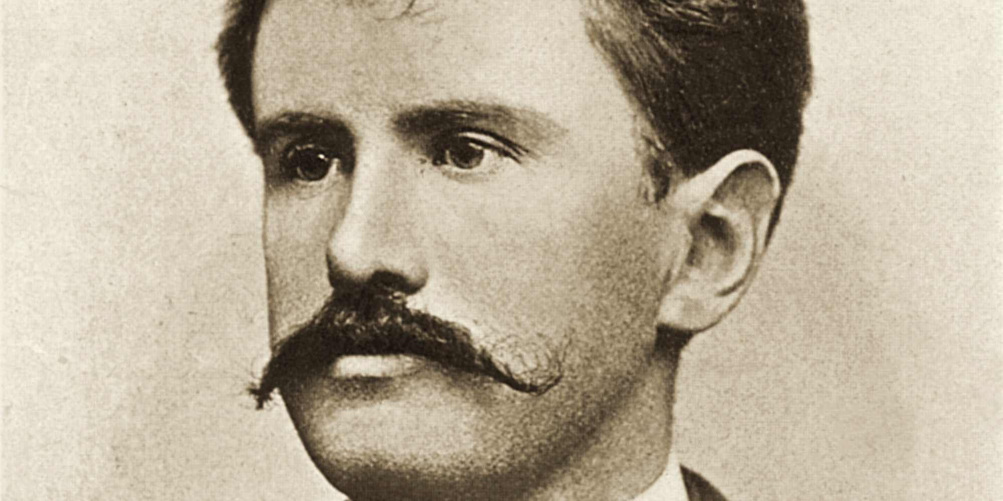 Portrait of American author William Sydney Porter (1862- 1910), more widely known by his pen-name of O. Henry, late 19th century. (Photo by Stock Montage/Getty Images)