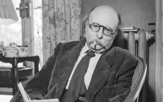 Jean Rostand le 17 mars 1967 neg:45098