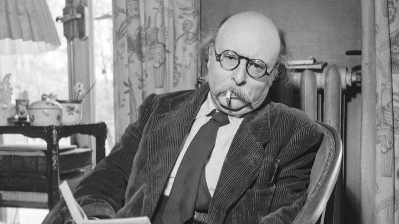 Jean Rostand le 17 mars 1967 neg:45098