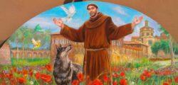Молитвата на Свети Франческо, покровител на Италия