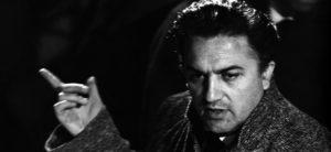 ©roma press/lapresse archivio storico spettacolo cinema anni '50 Federico Fellini nella foto: il regista Federico Fellini sul set