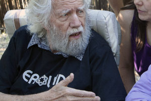 Sasha Shulgin at the Farm, June 19, 2009