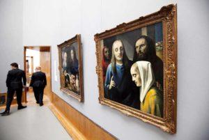 The-museum-shows-paintings-by-Dutch-Han-van-Meegeren