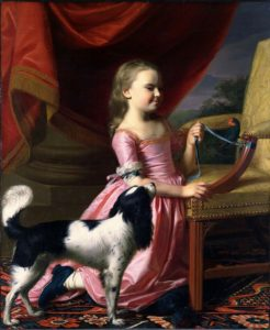 John_Singleton_Copley_Young_Lady_with_a_Bird_and_Dog