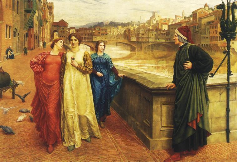 Данте – За една жена е по-добре да бъде красива, отколкото умна, защото мъжете по-добре виждат, отколкото мислят