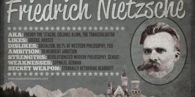 Фридрих Ницше – Аз обичам този, който иска да твори, надмогвайки себе си, и така погива