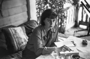 USA. NYC. 1947. US writer, Carson McCULLERS.
