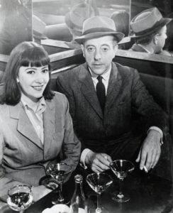 Jacques Prévert et Claudie, 1939 /Brassaï /sc