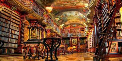 Най-красивата библиотека в света – Клементинум в Прага