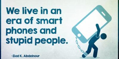 Разсейването със смартфона ни прави по-глупави