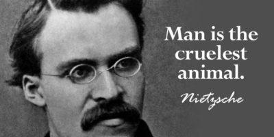 Фридрих Ницше : Добрите хора са каста, лошите – маса, подобна на прахта