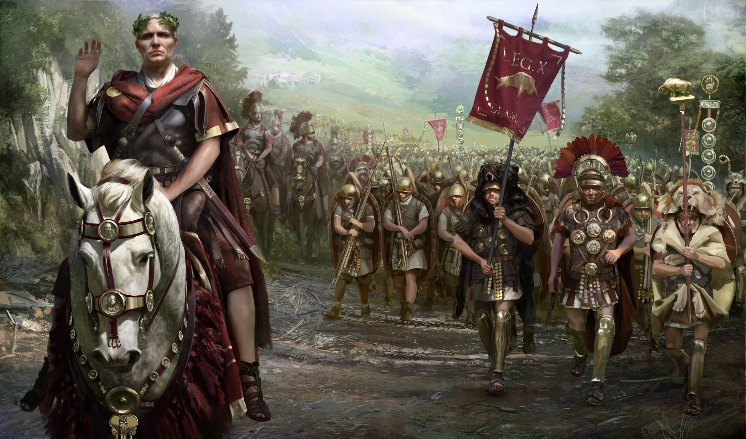 Резултат с изображение за настъпващите от север легиони на Юлий Цезар.